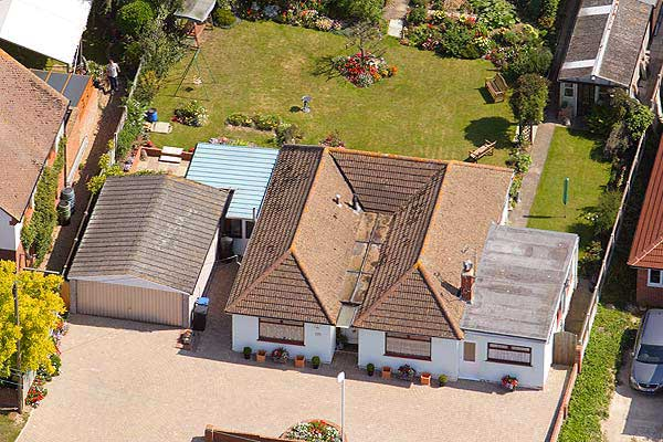 Aerial Drone Photograph Of My House