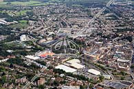 aerial photo of Maidstone town centre