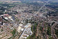 aerial photograph of Maidstone town centre