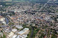 aerial photograph Maidstone town centre
