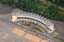 aerial photo of Marine Crescent, Folkestone