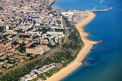 aerial photo of The Leas, Folkestone