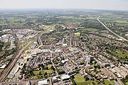 aerial photograph of Ashford, Kent