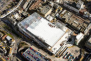 aerial photograph of Bouverie Place Shopping Centre in Folkestone, Kent