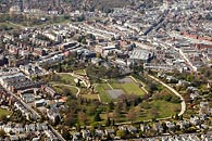 aerial photograph of Calverley Park, Tunbridge Wells