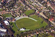 aerial photo of Canterbury Cricket Ground