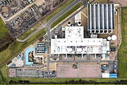 aerial photography of Damhead Creek Power Station, Kent