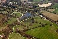 aerial photo of Dunorlan Park, Tunbridge Wells, Kent