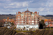 the magnificent Grand Hotel in Folkestone, Kent