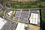 aerial photo of Ikea superstore in Thurrock, Essex