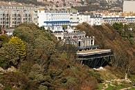 Aerial photo of the Leas Cliff Hall, Folkestone