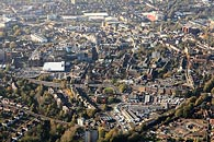 aerial photo Maidstone town centre, Kent