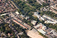 aerial photograph of Maidstone town centre.