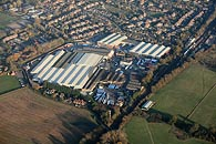aerial photograph of Marley site, Lenham, near Maidstone, Kent