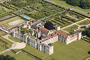 aerial photo of Penshurst Place in Kent