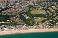 aerial photograph of Sandgate, Kent